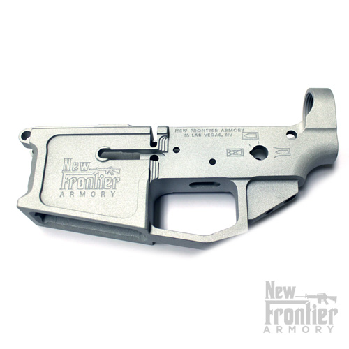 New Frontier Armory C4 Stripped AR-15 Billet Lower – RAW